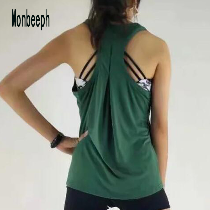 Monbeeph Sexy Women Tank-Clothes Black Green-Color Shirts Vest Stretch Red Stitching