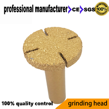 80grid diamond blade saw flat head for glasses vacuum brazed at good price and fast delivery 6x60mm
