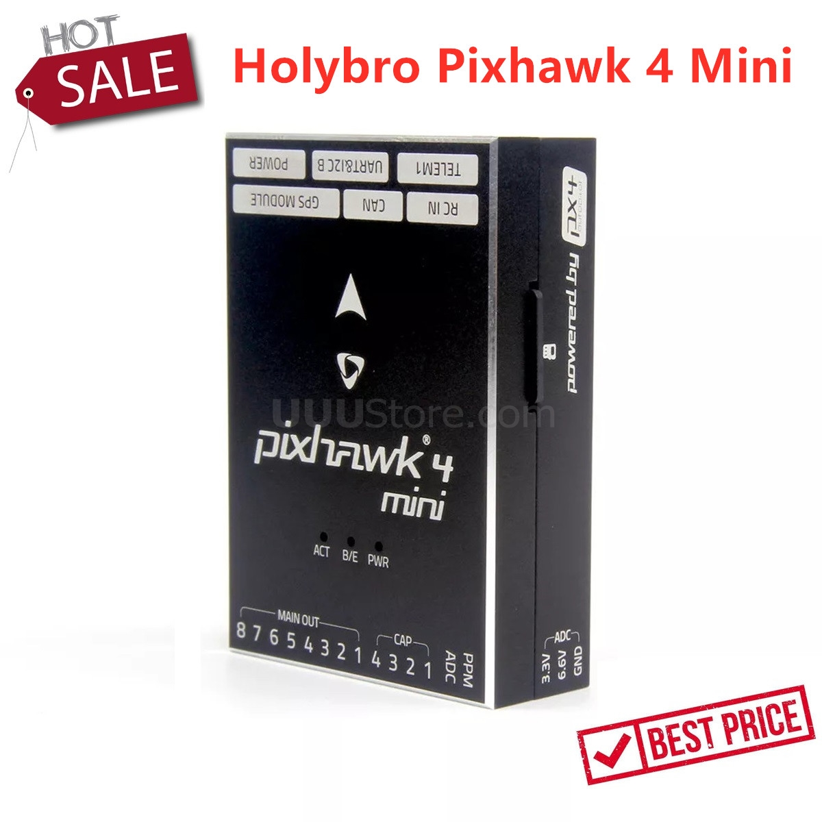 Holybro Pixhawk 4 Mini Autopilot Flight Controller PX4 Flight Control Pixhawk4 Mini For RC FPV Drone