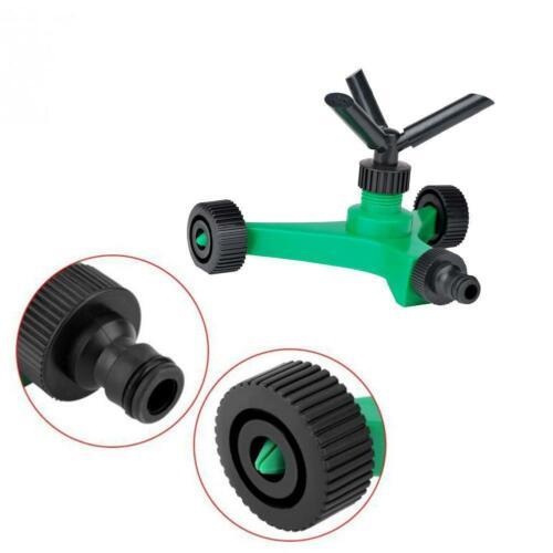 Image 5 - 2019 New Three fork Rotary Sprinkler With Wheels Watering Tri outlet Rotating Sprinklers-in Garden Sprinklers from Home & Garden