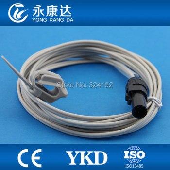 2pcs/pack Novametrix SPO2 Neonatal sillicone wrap Sensor probe 505 510 511 series reusable spo2 probe,free shipping