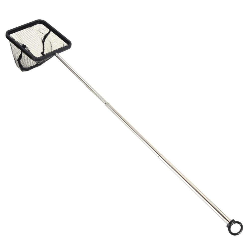 Аквариумная сеть, раздвижная квадратная креветка, маленькая бетта, Tetra ручка в форме рыбы, рыболовная сачок, снасти для аквариума