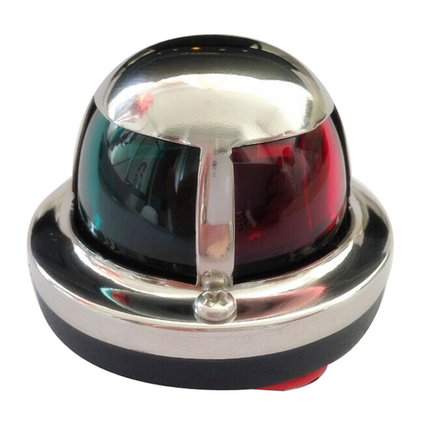 $ 15.07 1 Piece 12V LED Marine boat Yacht Light Bow Navigation Light Deck Mount Red Green