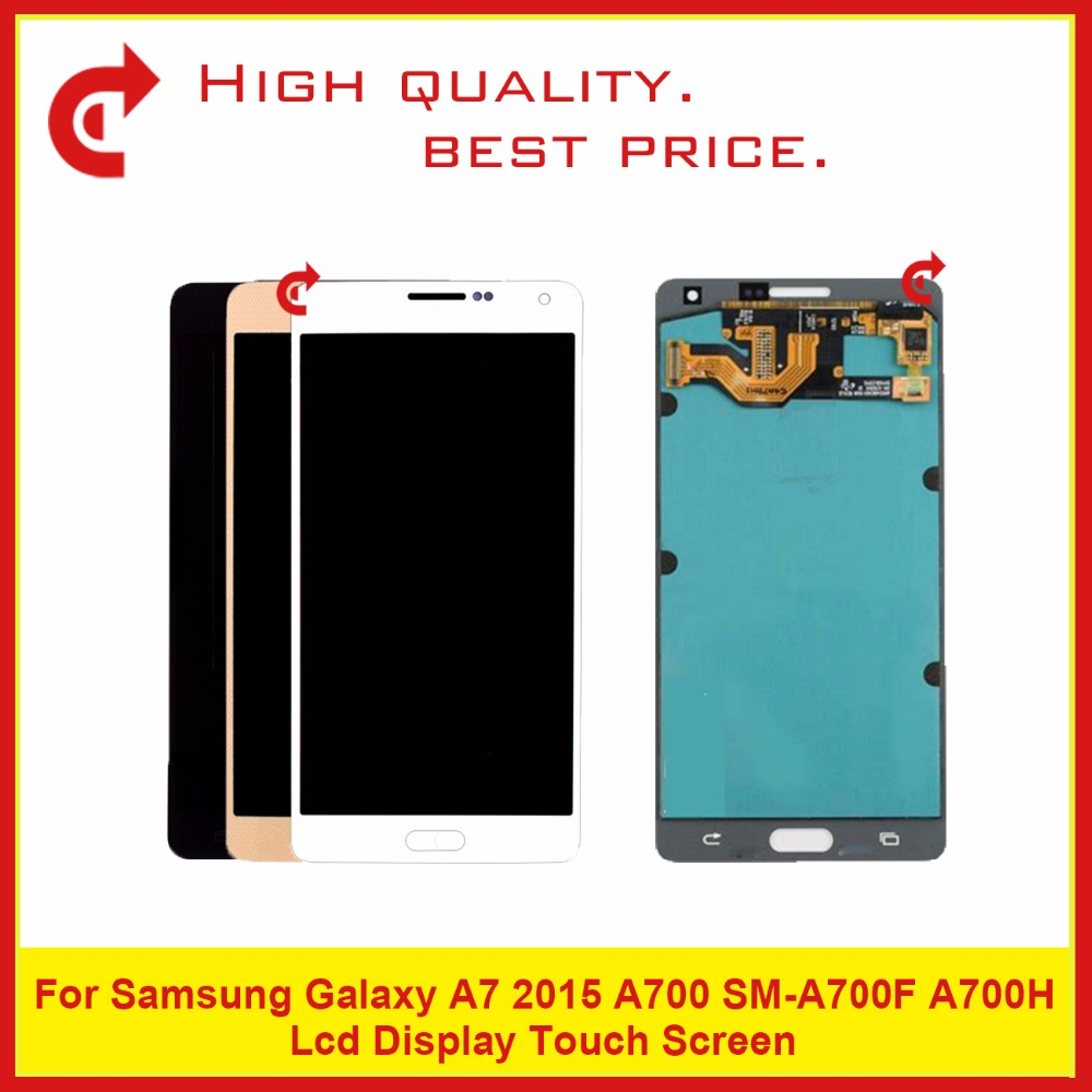 Best Quality OEM 5.5 For Samsung Galaxy A7 2015 A700 SM-A700F A700FD Lcd Display With Touch Screen Digitizer No FrameBest Quality OEM 5.5 For Samsung Galaxy A7 2015 A700 SM-A700F A700FD Lcd Display With Touch Screen Digitizer No Frame