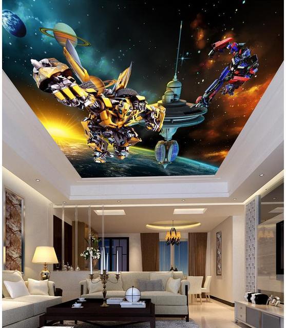 Aliexpress.com : Buy Cartoon 3d wallpaper modern for living room ...