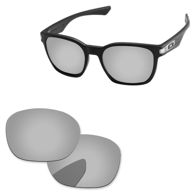 abcc6a2b576 Chrome Silver Mirror Polarized Replacement Lenses For Garage Rock Sunglasses  Frame 100% UVA   UVB