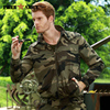 FREE ARMY Spring Military Jacket Men Camouflage Bomber Jacket Casual Brand Clothing Plus Size 4XL High