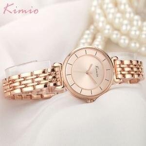Image 3 - Kimio Gold Watch Women Watches Ladies Creative Steel Womens Bracelet Watches Female Clock Relogio Feminino Montre Femme