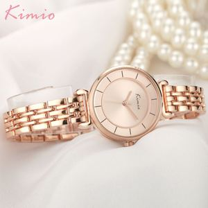 Image 3 - Kimio altın İzle kadınlar saatler bayanlar yaratıcı çelik kadın bilezik saatler kadın saat Relogio Feminino Montre Femme
