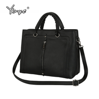 YBYT Brand 2018 New Casual Women Totes Vintage Satchels Female Handbags Shopping Shoulder Bag Ladies Messenger