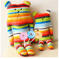 hot selling creative gift 55cm Japan CRAFTHOLIC colourful plush bear toy doll