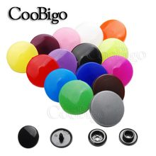 10Sets T5(12mm) Round Plastic Snaps Button Fasteners Quilt Cover Sheet Button Garment Accessories For Baby Clothes Clips(China)