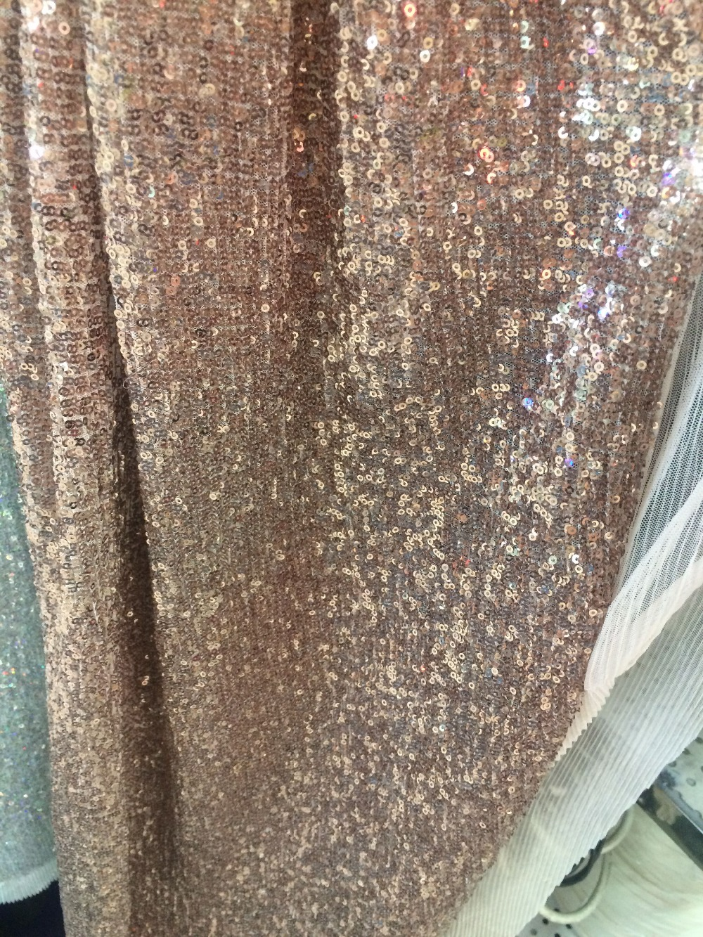 New Arrival African Sequins Fabric LJY 82751 For Nigerian Wedding Dress Hot Selling-in Lace from Home & Garden    2