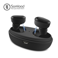 Samload T12 Wireless Headphones Bluetooth Cordless Earphones Stereo in ear Earbuds With Charging box For iPhone 7 X Xs Xr Xiaomi