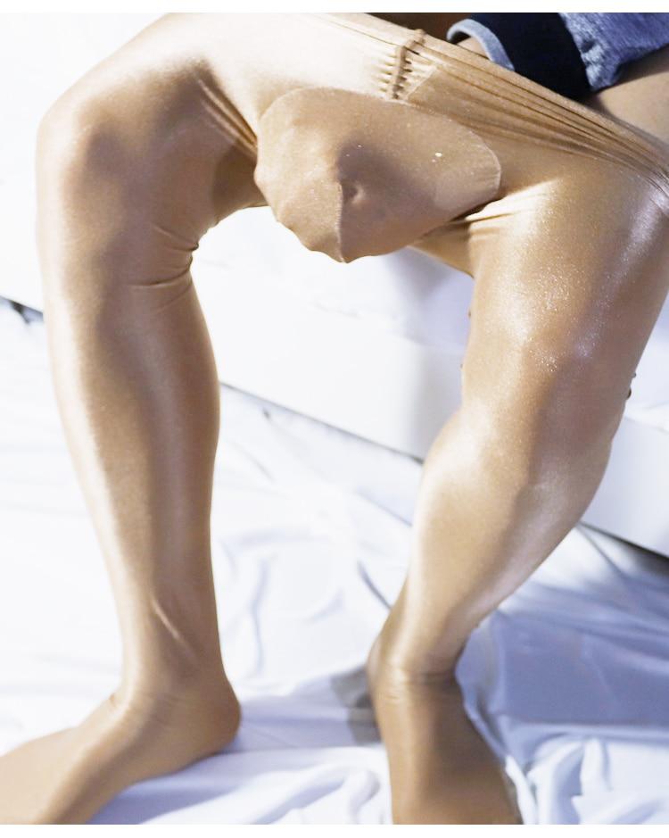 Analytisch Herren Helle Unsichtbare Leggings Taschen Strumpfhosen Für Männer Strümpfe Herren Zarten Seidig Collant Homme Sexy Pouch Leggings Verschiedene Stile