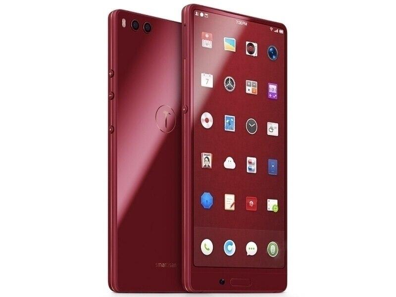 D'origine Déverrouiller Nouveau Smartisan Écrou 3 Mobile Téléphone 5.99