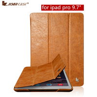 Jisoncase Smart Tablet Cover For IPad Pro 9 7 Inch Case Luxury Brand Genuine Leather With