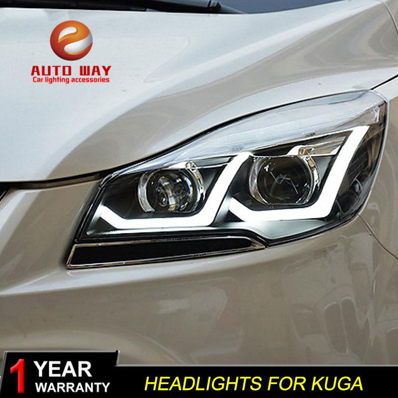 Autós stílusú fényszóró tok a Ford Kuga fényszórókhoz - Autó világítás