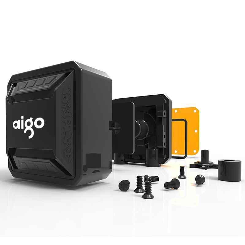 AIGO Chất Lỏng CPU Tất Cả Trong Một Nước Làm Mát 120mm PWM Đèn LED để bàn máy tính tản nhiệt LGA 775/115x/AM2/AM3/AM4