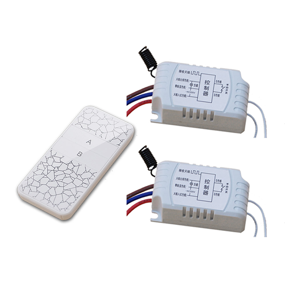 New Style White Color Wireless AC220V Remote Control Switch with Manual Button+Receiver for Smart Home 315/433MHZ Free Shipping wireless pager system 433 92mhz wireless restaurant table buzzer with monitor and watch receiver 3 display 42 call button