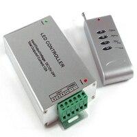 Controll RF מרחוק DC12-24V 12A RGB RF הוביל בקר תקרת RGB Downlight Led רצועת אור הקמעונאי ארבעה מפתחות RF בקר