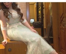 free shipping 2013 vestidos de fiesta formal luxury feather elegant beaded short blue mermaid cocktail and party prom dresses