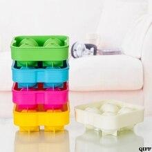 Виски льда Куб мяч производитель плесень кирпич круглый бар аксессуары Высокое качество случайный цвет JUN06