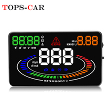 2018 Newest E300 OBD2 Smart Digital Speedometer Car HUD Head-Up Display RPM Water Temperature Low Voltage Alarm цена и фото