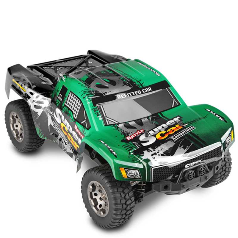 NEW remote control RC Electric car toy 12403 1:12 Scale 2.4G 4WD High Speed Buggy Off-Road Vehicle Car RC Electric Short Truck 1 12 high speed car ratio control 2 4 ghz all wheel drive model 4x4 driving car assebled buggy vehicle toy