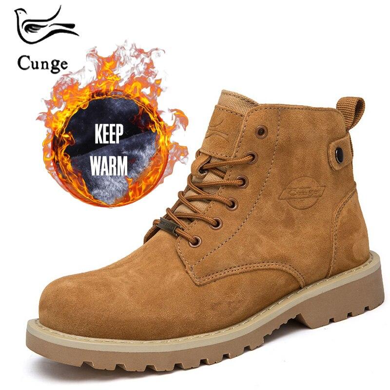 0345f222e55 Comprar Botas de mujer de moda zapatos de hombre con vaca Suede cuero  genuino mantener caliente con felpa interior tamaño pequeño invierno nieve  botas ...