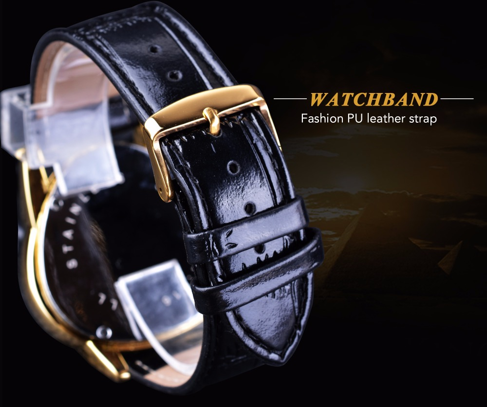 HTB1O3ClhZLJ8KJjy0Fnq6AFDpXaF Winner Steampunk Fashion Triangle Golden Skeleton Movement Mysterious Men Automatic Mechanical Wrist Watches Top Brand Luxury