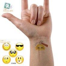Mini Body Art Waterproof Temporary Tattoos For Men Women Lovely Cartoon Design Flash Tattoo Sticker CC6056