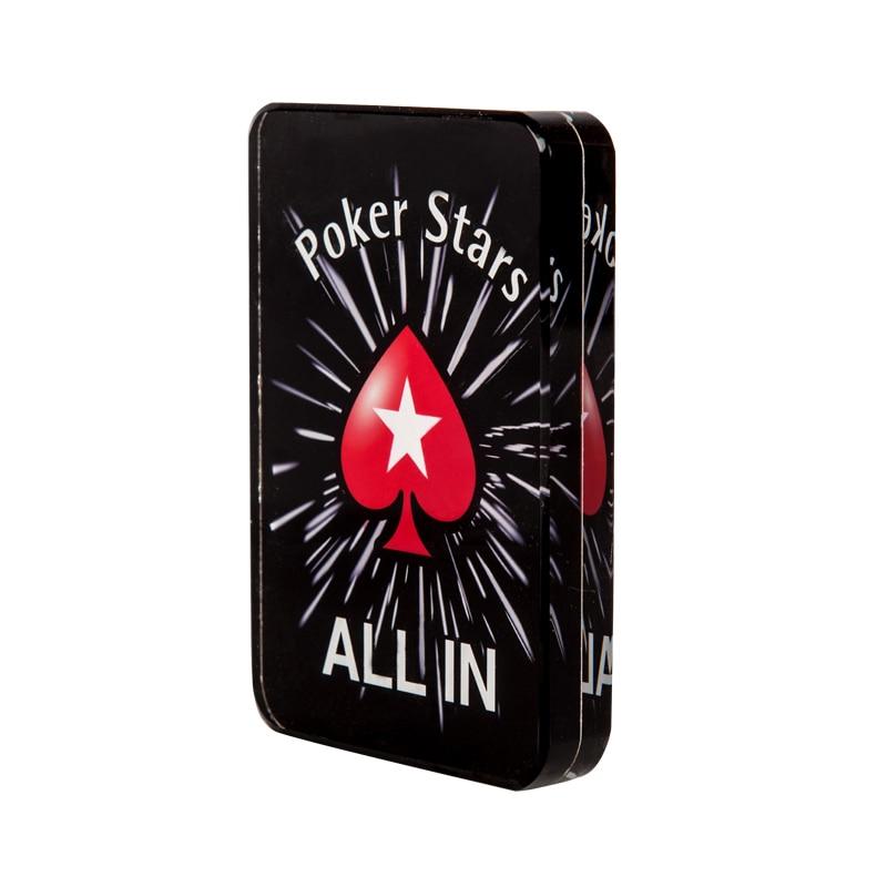 """""""Crystal PokerStars"""" pokerio žetonų prekeivio mygtukas ALL IN - Pramogos - Nuotrauka 5"""