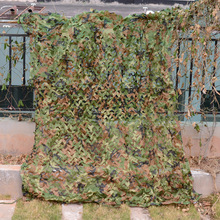 LOOGU EM 2M*3M Woodland Camouflage Netting Army Military Camo Net Car-Covering Tent Hunting Blinds Camo Netting