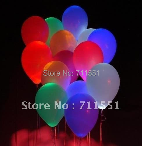 2014 Wholesale-free shipping led latex balloon,flash balloon,lighting ballon,holiday product,perfect decoration gift!