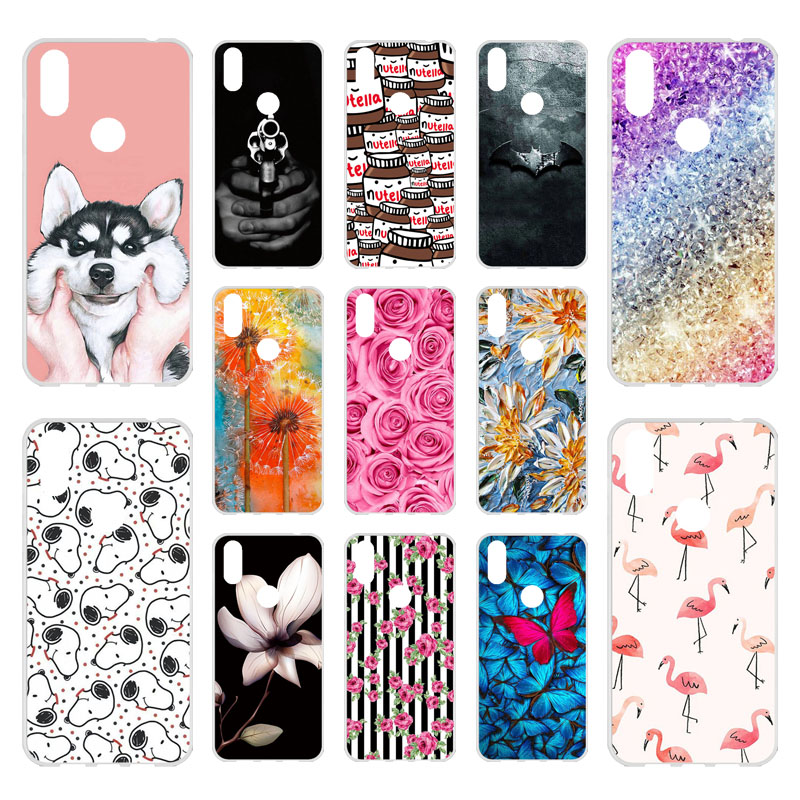 Phone Cases For Doogee Y8 Case Silicon Nutella Bumper For Doogee Y8C N10 F5 X5 X60L Y6 X9 X70 X30 X20 Homtom HT7 Cover Case image