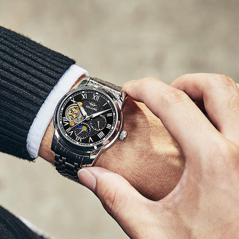 Switzerland 2019 new men s mechanical diesel watch tourbillon automatic steel waterproof luminous trend sports watch