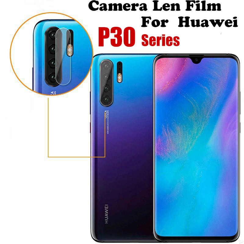 Cristal de lente de cámara trasera para Huawei P30 película protectora de luz para Huawe P 30 30Pro 30 Lite Vidrio Templado película de lente huawey P30