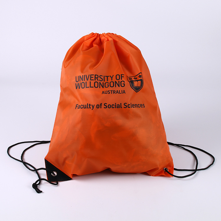 YOUQU TOP Quality 210D Polyester Drawstring Backpack,polyester Drawstringbag,promotional Bag