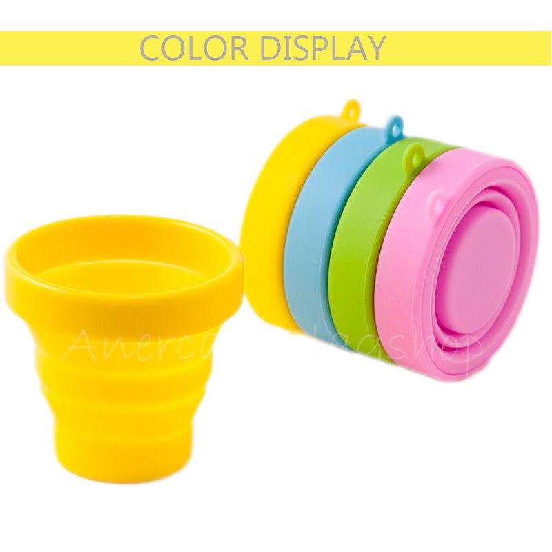 50 pcs  Foldable Sterilize Cup sterilizer cup for women menstrual cup silicona flexible Menstrual sterilizing cups