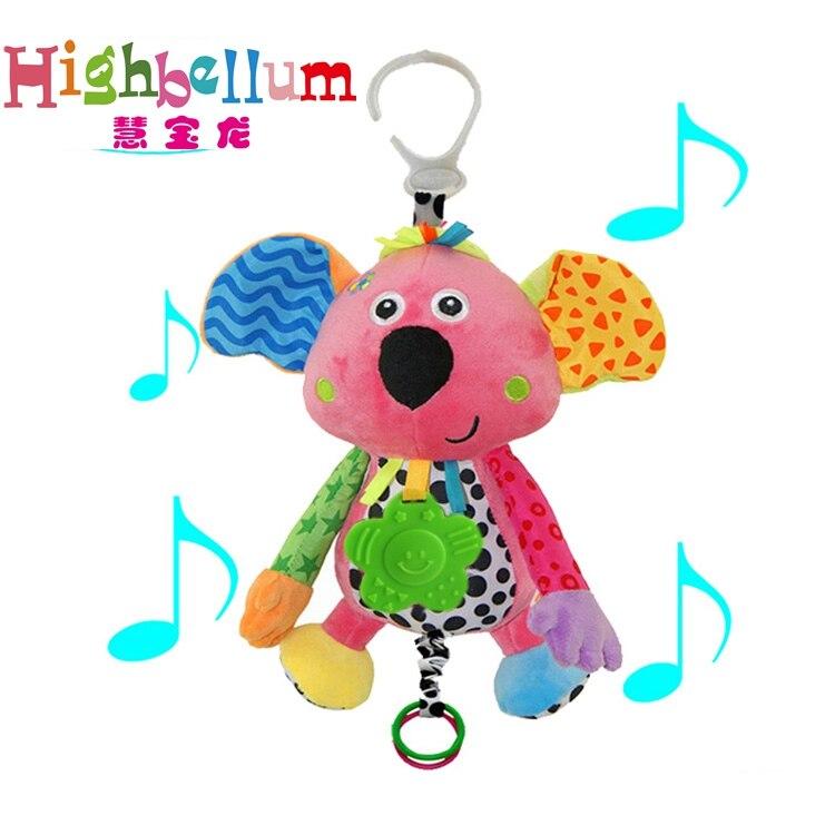 Baby Kids Plush Rattle Toys Կրթական Երաժշտական - Խաղալիքներ նորածինների համար - Լուսանկար 3