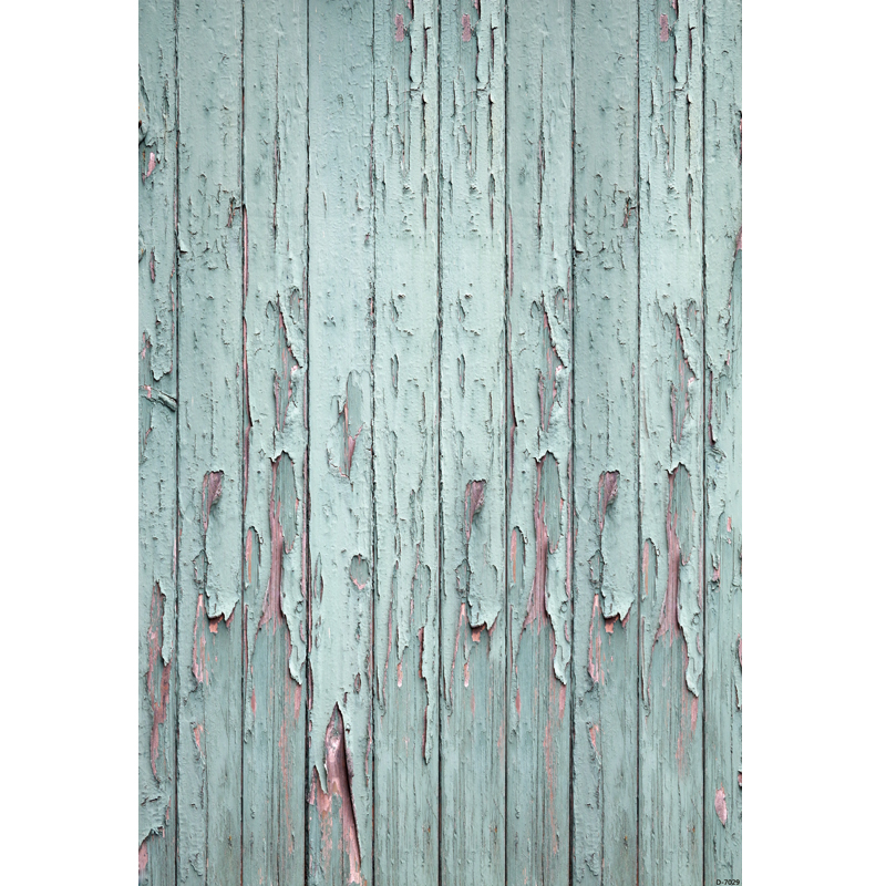 1.5X2.2m Canvas Light Green Wooden Planks Photography Backdrop For Children photo prop KP 007