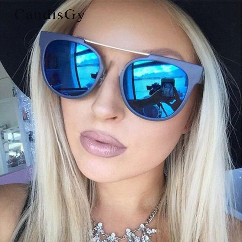 wholesale outlet shop best sellers thoughts on € 6.3 |Mode Femmes Petit Visage Clair Cadre Miroir lunettes de Soleil  Classique Revêtement Hommes CatEye Oculos de sol Lady Femme Pas Cher  Nuances ...