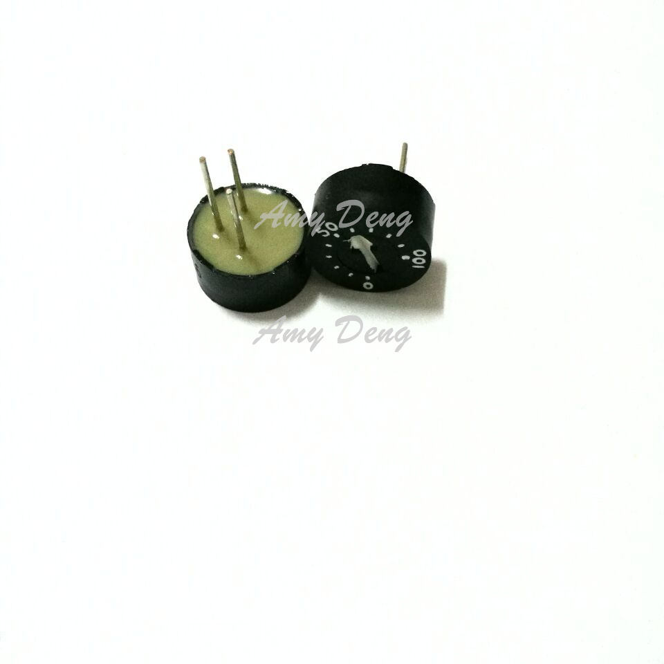Glass glaze circular single ring preset potentiometer 93PR201 200R WIW3009-201