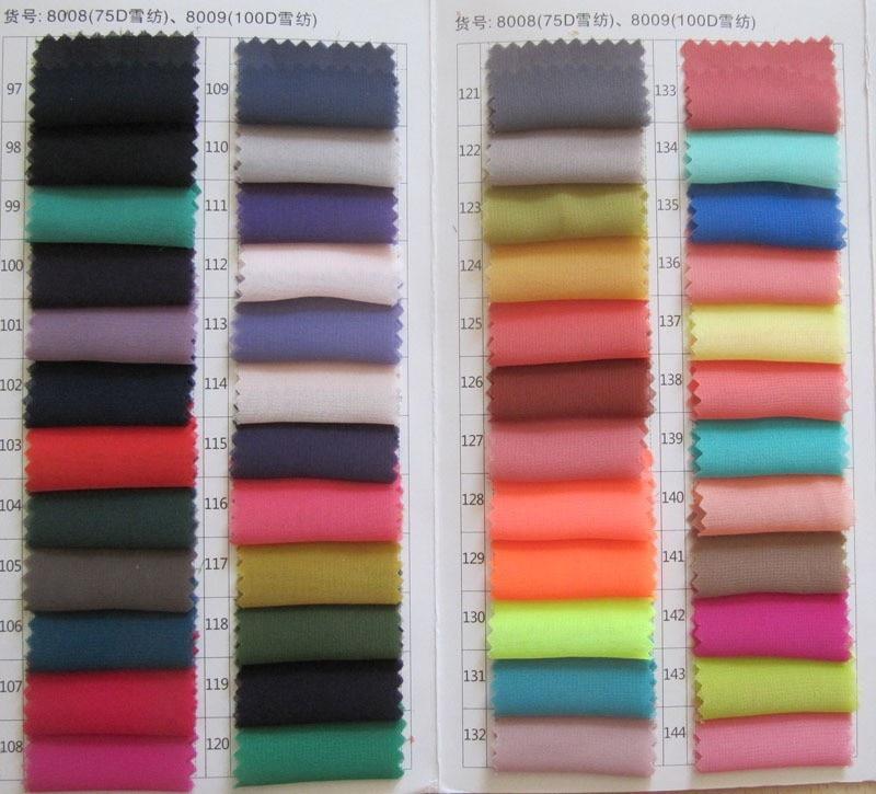 Купить с кэшбэком Puffy Woman Chiffon Wrap Schal Bridal Scarf Summer Muslim Hijabs 200*45 CM Custom-made Color Avaliable 2018
