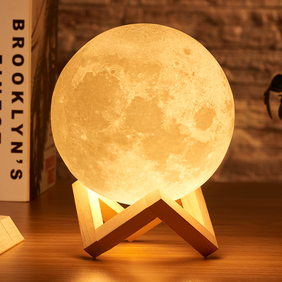 Objective Creative Led Night Light Body Induction Dimming Light 360 Degree Rotating Wall Lamp Children Bedroom Lamp Indoor Lighting Beneficial To The Sperm Lights & Lighting