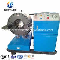 2017 Barnet BNT91F de gran diámetro máquina de prensado de manguera hidráulica precio en la India