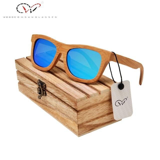 Kylie Titular de gafas de Sol de Madera Cuadrado Negro Polarizado Lentes Grises Gafas de Sol Ken Bloque de gafas de Sol de Madera Negro