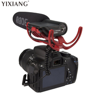 YIXIANG Rode VideoMic Directional Video Condenser Microphone with Mount for Canon Nikon Lumix Sony DJ Osmo DSLR Camera Microfone