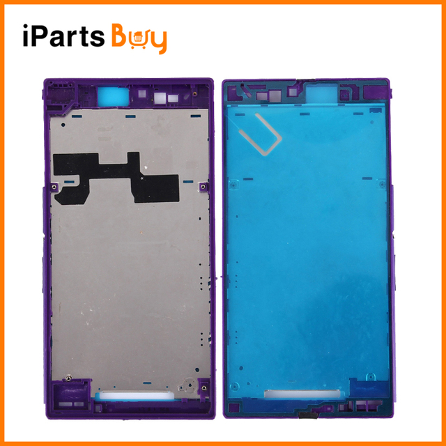 iPartsBuy for Sony Xperia Z Ultra / XL39h / C6802 Mobile Phone Front Housing LCD Frame Bezel Plate